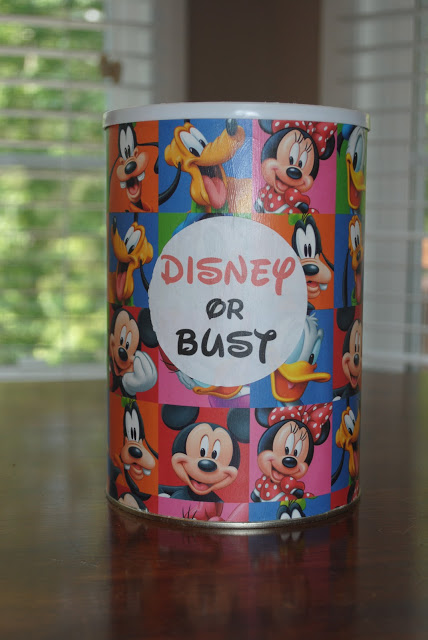 easy Disney World change jar