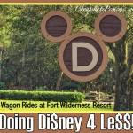 Disney World 4 Less: Wagon Rides for $12 and Under!