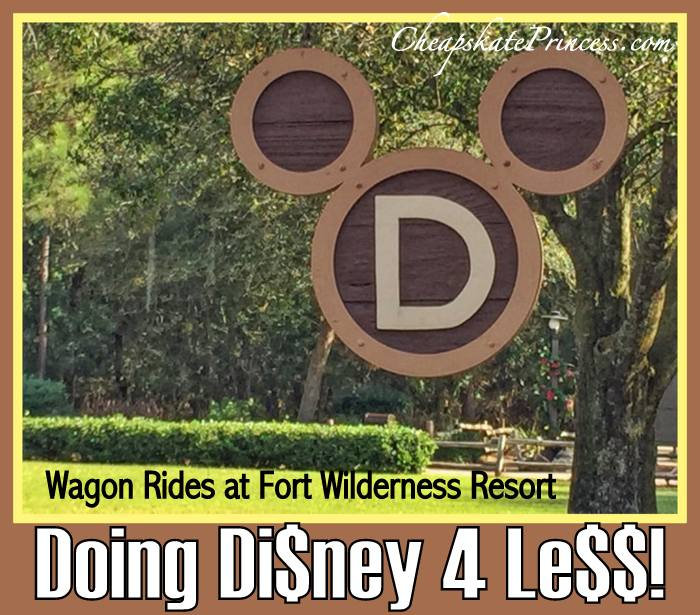 cost of Fort Wilderness Wagon Rides at Disney World