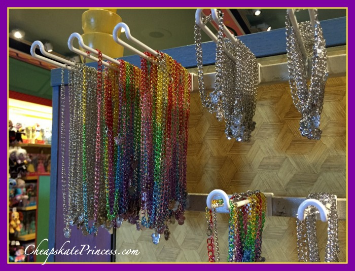 Charms sold at Disney World and Disneyland