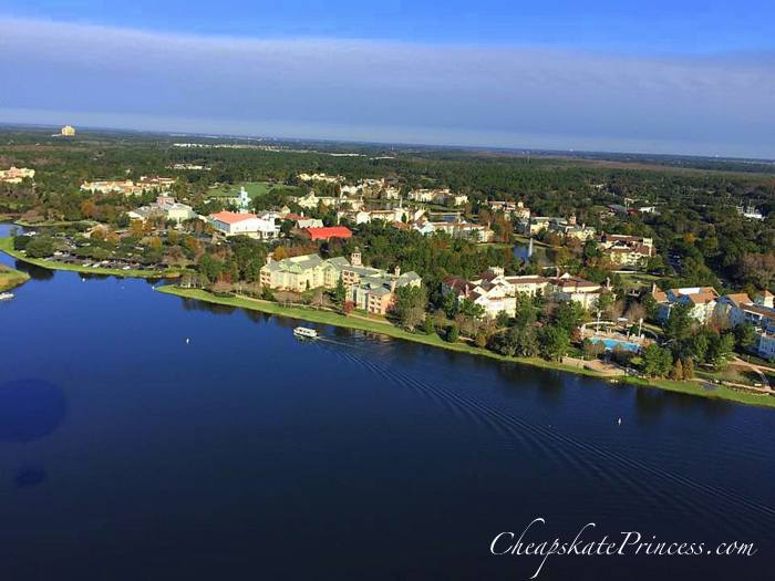 Saratoga Springs from Characters in Flight balloon
