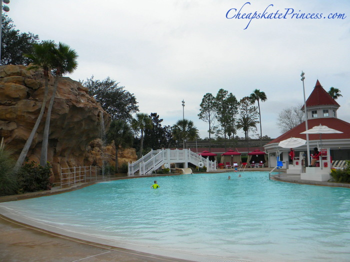 swim on a free day at Disney World