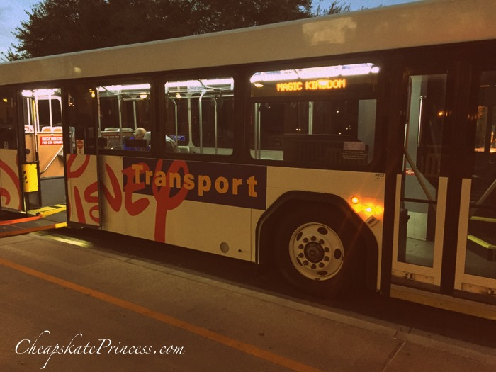 Disney World resort bus system