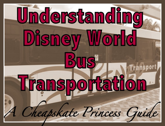How to get around Disney World by bus
