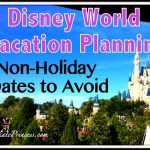 Disney World Vacation Planning: Non-Holiday Dates to Avoid