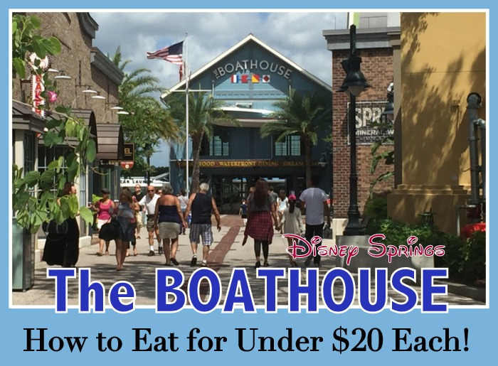 Boathouse Restaurant at Disney Sorings for less