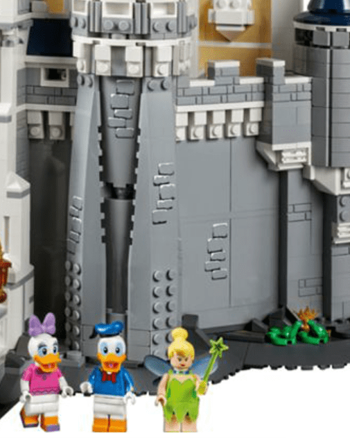 Disney Castle for Lego fans