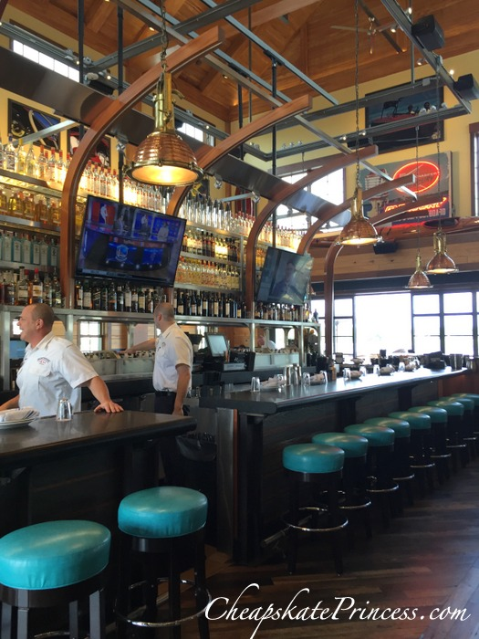Disney Springs Boathouse bar