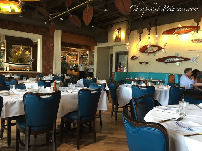 Disney Springs Boathouse restaurant