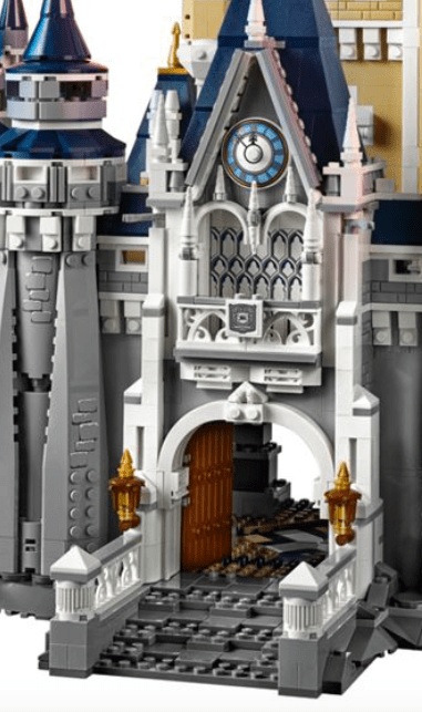 cost of the Lego Disney World castle