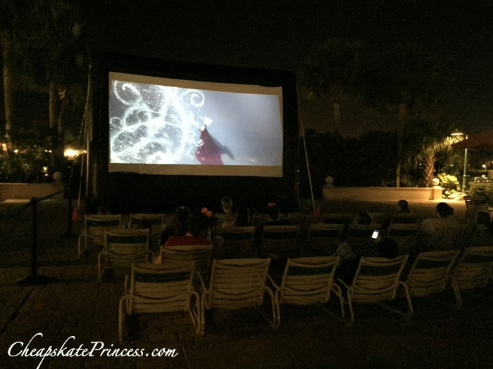 movies by the stars at Disney resorts