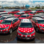 Disney World Minnie Vans