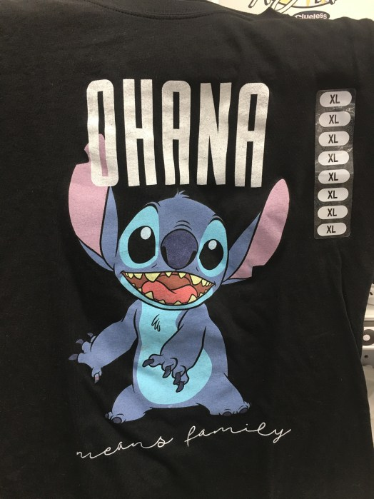 Stitch shirt for a Disney vacation