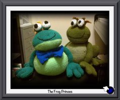 Knitted Frog Princes