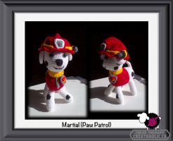 Marshal from Paw Patrol