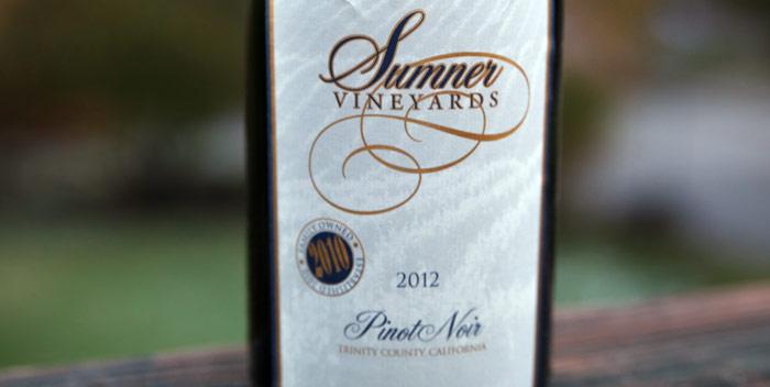 Sumner Vineyards Pinot Noir
