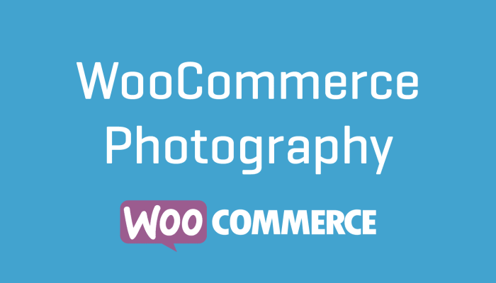 WooCommerce Photography Plugin Extension Wordpress