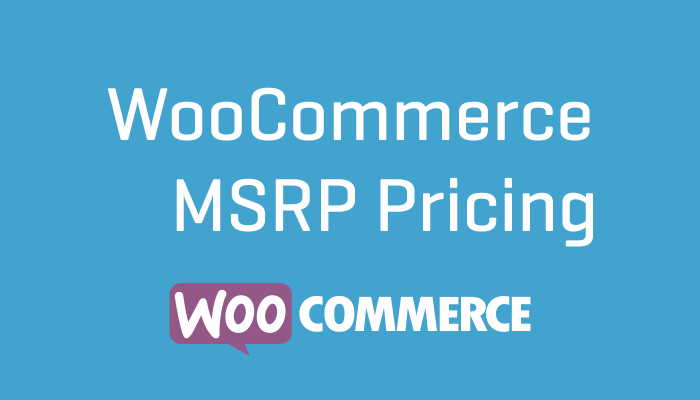 WooCommerce MSRP Pricing Wordpress Plugin Extension