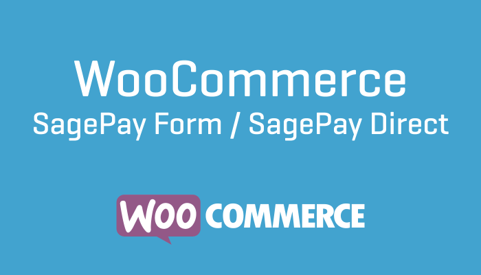 WooCommerce SagePay Form : SagePay Direct