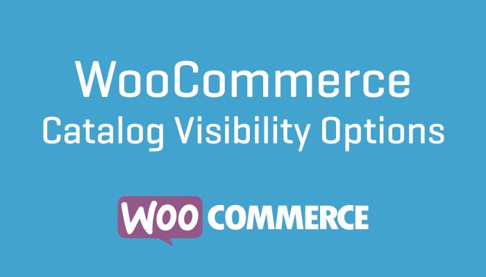 WooCommerce Catalog Visibility Options