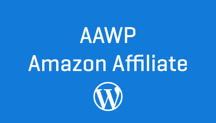 AAWP Amazon Affiliate Wordpress Plugin