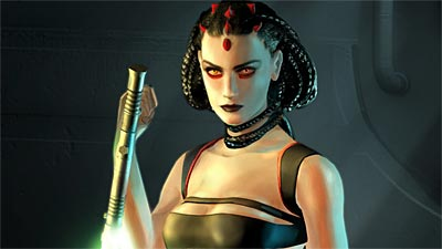 Maris Brood looks like she might have a big role in The Force Unleashed...