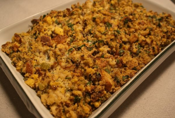 Southern Cornbread Dressing   Cheater Chef Southern Cornbread Dressing