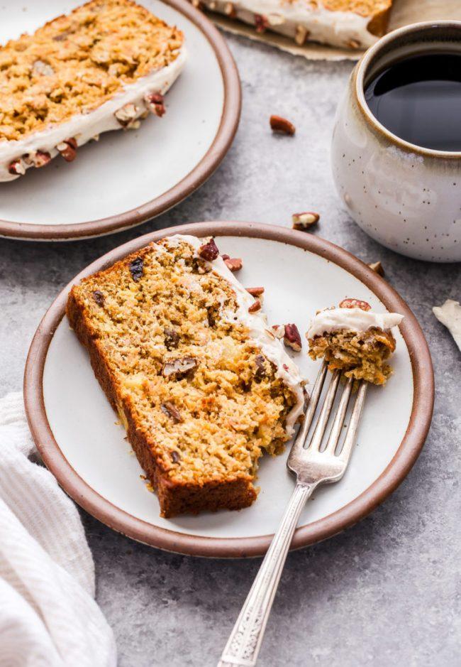 oatmeal carrot cake