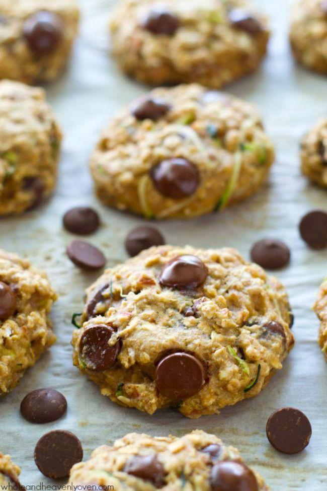 oat zucchini cookies