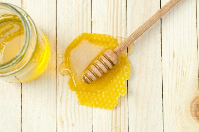 heal sunburn honey