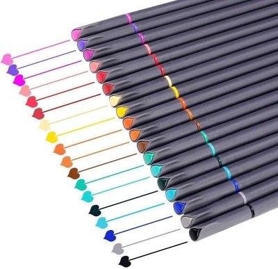 fineliner marker pens