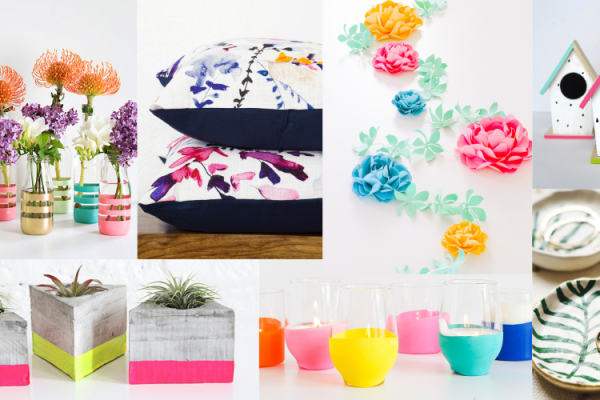 20 Colorful Crafts to do This Spring – Ideal for Beginners