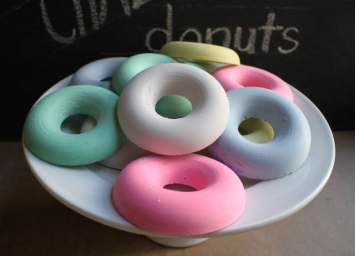 chalk donuts