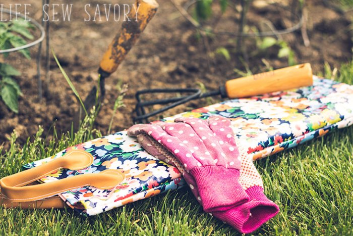 diy gardening knee pad