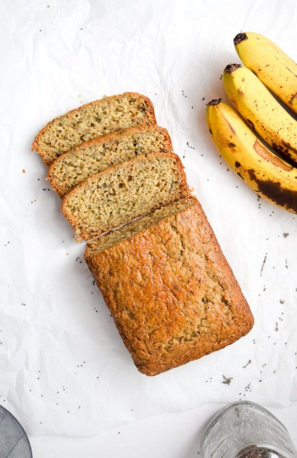 banana chia bread