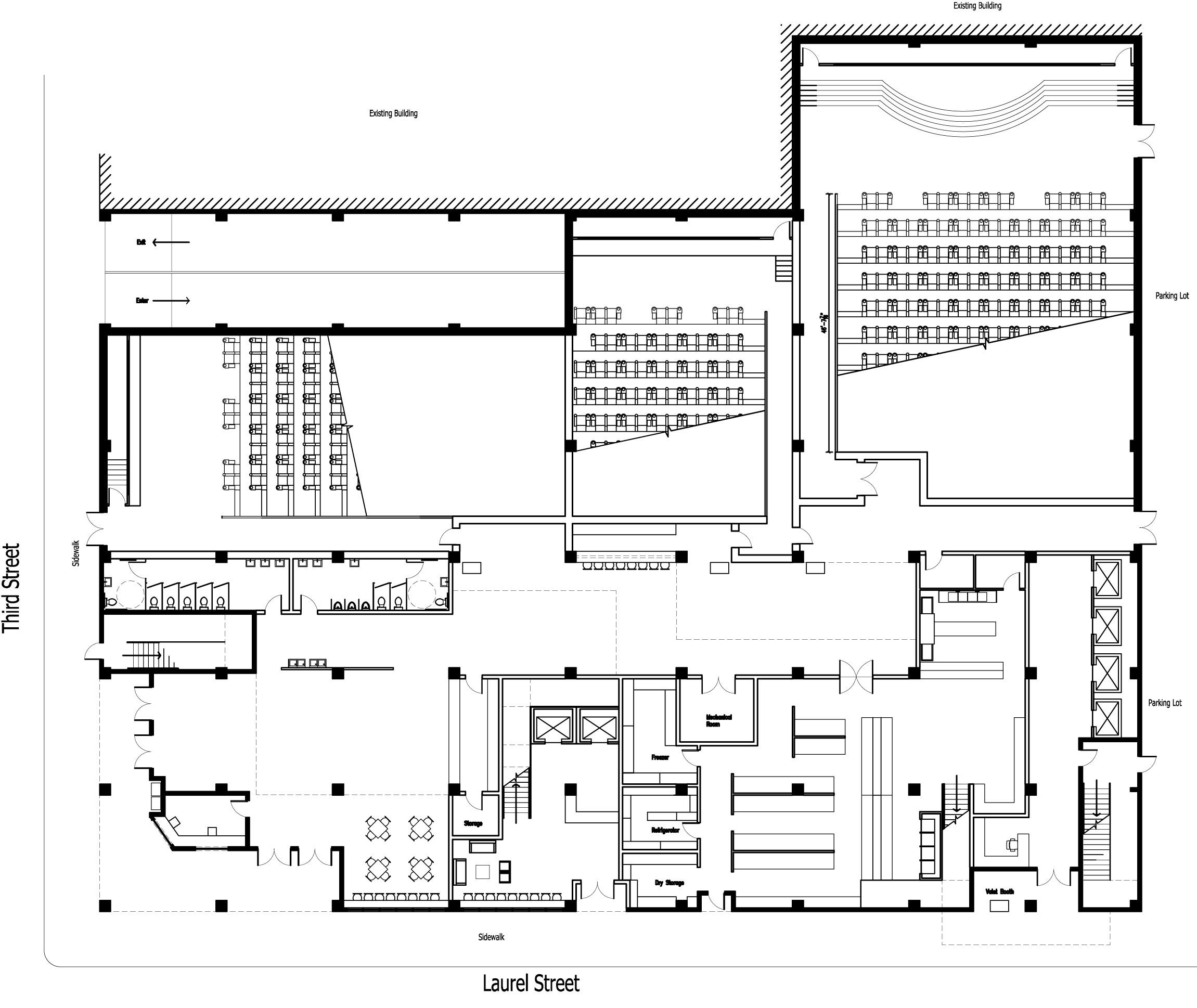 Edited Floorplans