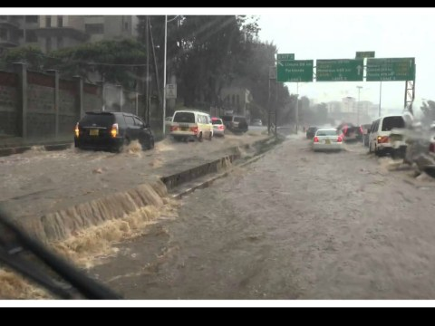 Heavy Rains Hits Nairobi City
