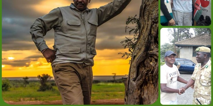 Jim Nyamu: The Man Who literally Walks for Elephants