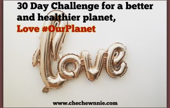 30 Day Challengefor a better and healthier planet, Love#OurPlanet