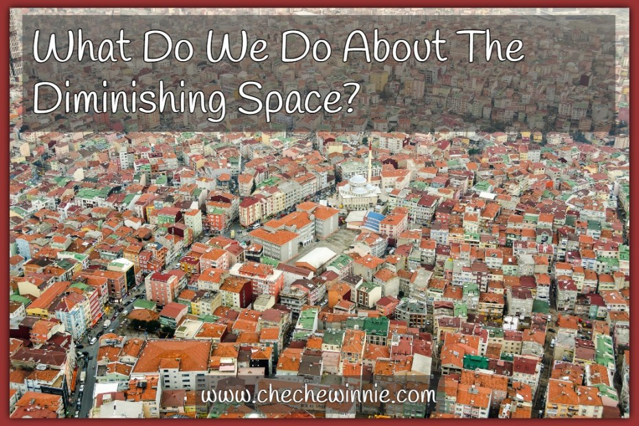 What Do We Do About The Diminishing Space?