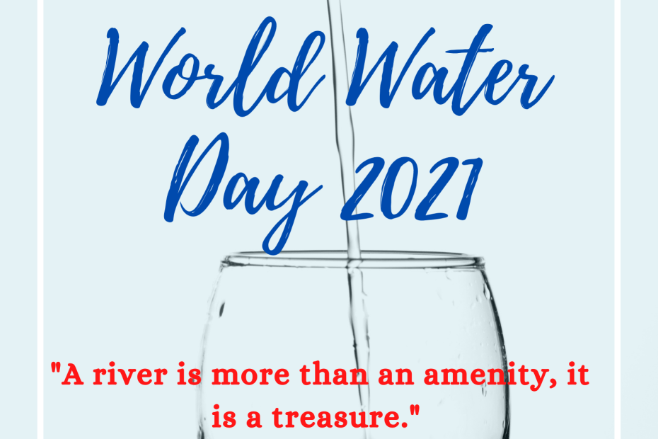 """A river is more than an amenity, it is a treasure."" - Justice Oliver Wendell Holmes #WorldWaterDay2021"