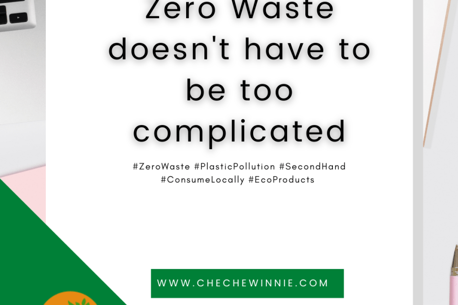 Zero Waste doesn't have to be too complicated