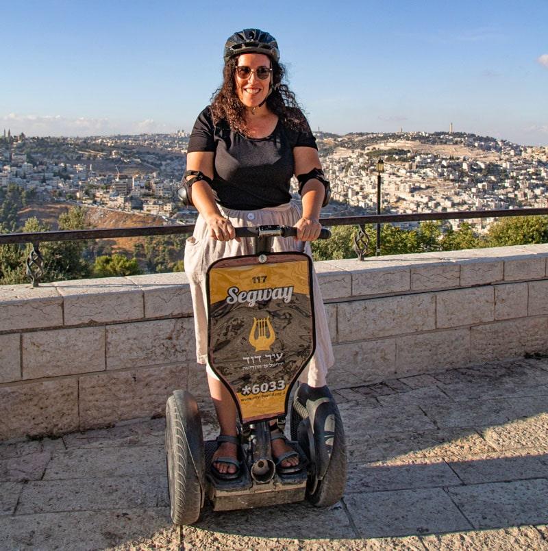 סיור סגווי בירושלים עם עיר דוד