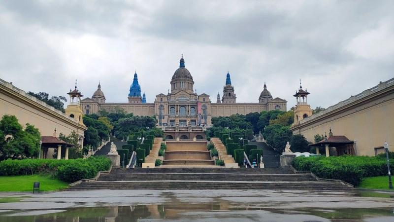 ארמון פלאזה אספנייה בברצלונה