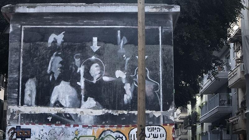 גרפיטי תיעוד רצח רבין