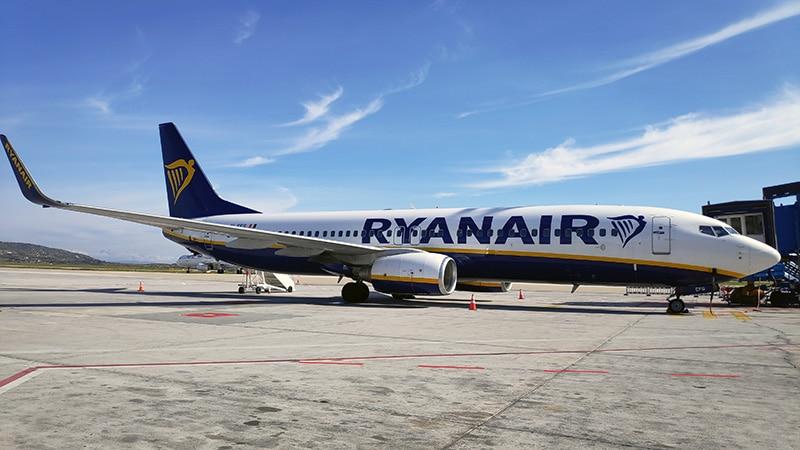 מטוס של חברת ריינאייר