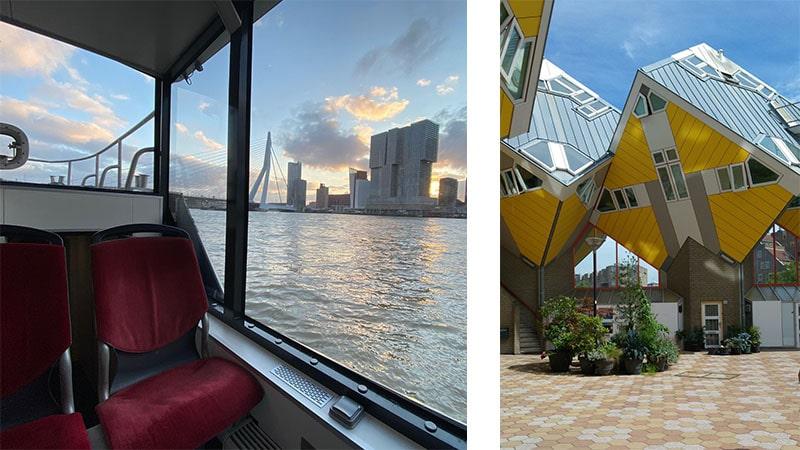 מבנים מיוחדים ברוטרדם הולנד