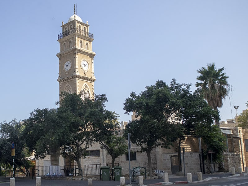מסגד אל-ג'רינה בעיר התחתית בחיפה