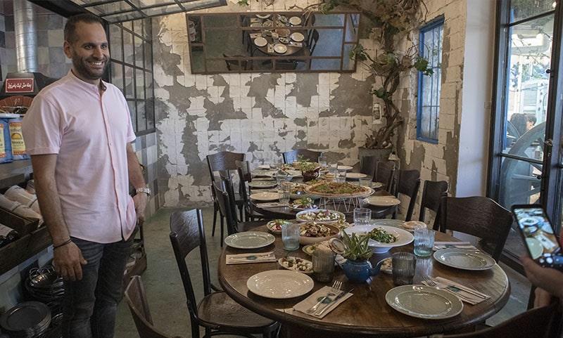 מסעדת שטרודל מושבה גרמנית חיפה