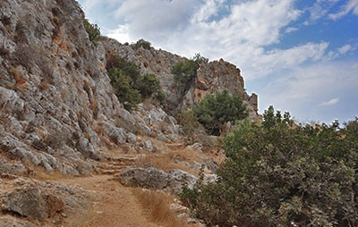 שמורת נחל מערות מערות פרההיסטוריות